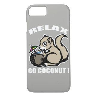 Capa iPhone 8/ 7 Relaxe! Vai o coco