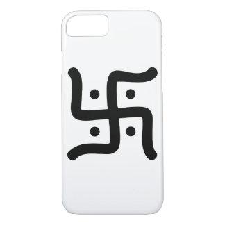 Capa iPhone 8/ 7 religião hindu tradicional indiana do símbolo da
