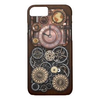 Capa iPhone 8/ 7 Relógio de Steampunk Redux