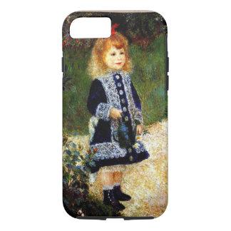 Capa iPhone 8/ 7 Renoir - menina com uma lata molhando