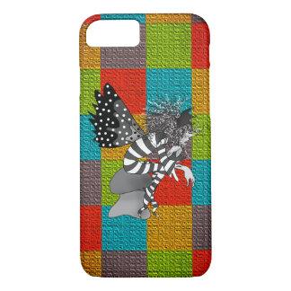 Capa iPhone 8/ 7 Retalhos brilhantes coloridos do duende masculino