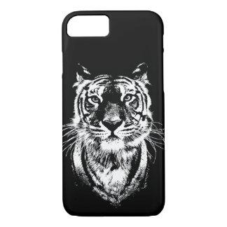 Capa iPhone 8/ 7 Retrato impressionante do gato de tigre. Animais
