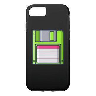 Capa iPhone 8/ 7 Retro - caixa da disquete