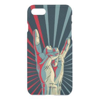 Capa iPhone 8/7 rocha da mão