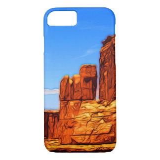 Capa iPhone 8/ 7 Rochas do parque nacional dos arcos