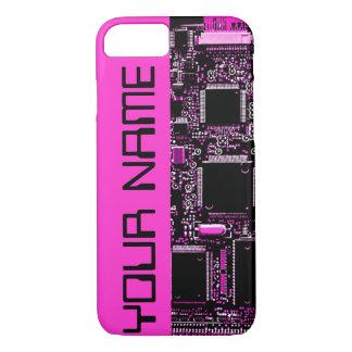 Capa iPhone 8/ 7 Rosa conhecido cor-de-rosa do caso do iPhone 7 do