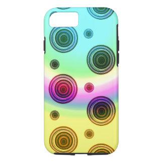 Capa iPhone 8/ 7 rosa de arco-íris
