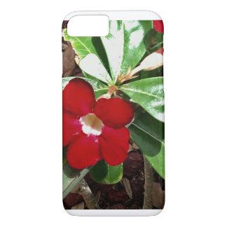 Capa iPhone 8/ 7 Rosa de deserto vermelho