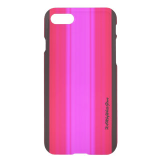 Capa iPhone 8/7 Rosa do rosa quente do caso do defletor de HAMbWG