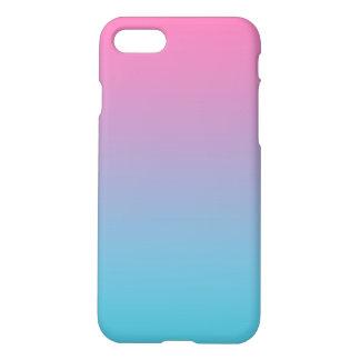 Capa iPhone 8/7 Rosa & turquesa Ombre