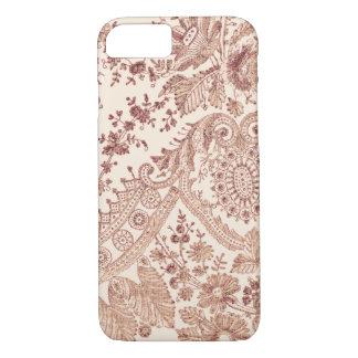 Capa iPhone 8/ 7 Rosas cor-de-rosa do laço