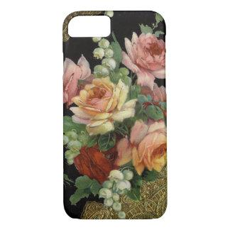 Capa iPhone 8/ 7 Rosas do vintage