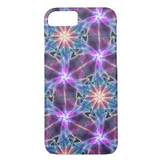 Capa iPhone 8/ 7 roxo abstrato do fractal
