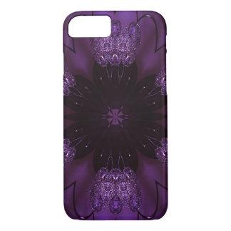 Capa iPhone 8/ 7 Roxo brilhante elegante chique do design do