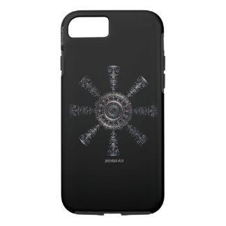 Capa iPhone 8/ 7 Rune☼ ancestral e espiritual do ☼Aegishjalmur -