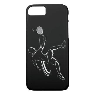 Capa iPhone 8/ 7 Salva masculina do jogador de ténis