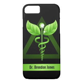 Capa iPhone 8/ 7 Saúde holística da terapia natural verde do