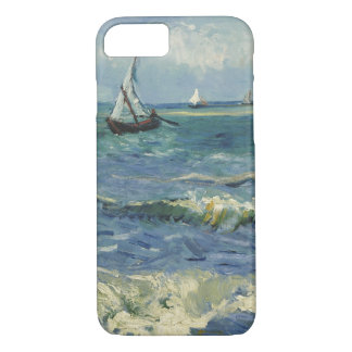 Capa iPhone 8/ 7 Seascape de Van Gogh em Saintes Maries de la Mer
