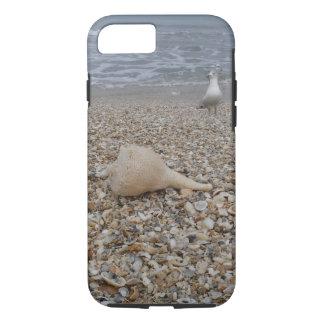 Capa iPhone 8/ 7 Seashells e gaivota de mar