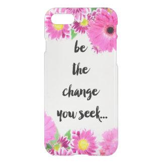 Capa iPhone 8/7 Seja a mudança que você procura