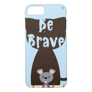 Capa iPhone 8/ 7 Seja rato pequeno bravo