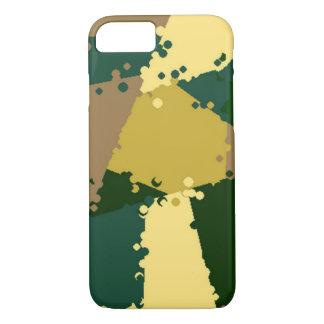 Capa iPhone 8/ 7 Selva dourada Camo