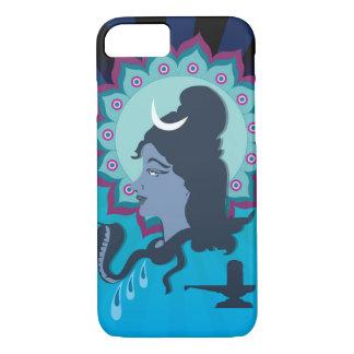 Capa iPhone 8/ 7 Senhor Shiva Digital Ilustração com arte da