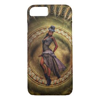 Capa iPhone 8/ 7 senhora B de Steampunk da fantasia