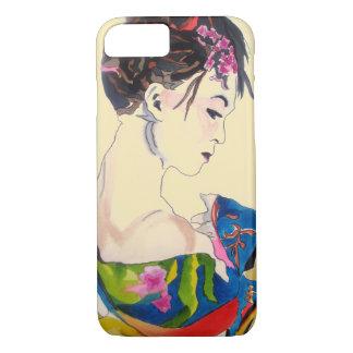 Capa iPhone 8/ 7 Senhora com quimono