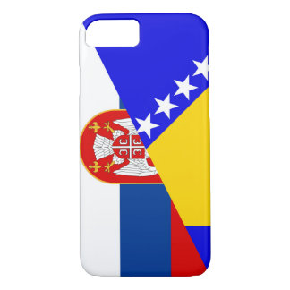 Capa iPhone 8/ 7 serbia Bósnia - símbolo do país da bandeira de