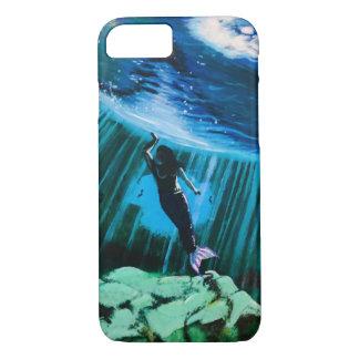 Capa iPhone 8/ 7 Sereia subaquática pelo exemplo de John Fermin