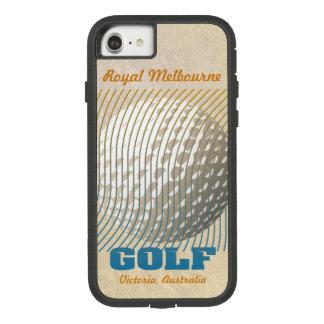Capa iPhone 8/ 7 Série do golfe 1 azul no bege