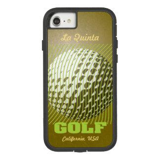 Capa iPhone 8/ 7 Série do golfe 1 limão em goldtone