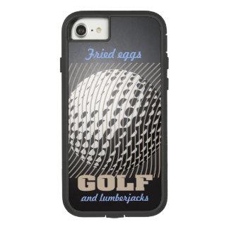 Capa iPhone 8/ 7 Série do golfe 1 taupe no preto