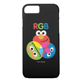 Capa iPhone 8/ 7 Sesame Street do RGB