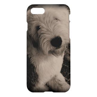 Capa iPhone 8/7 Sheepdog inglês velho