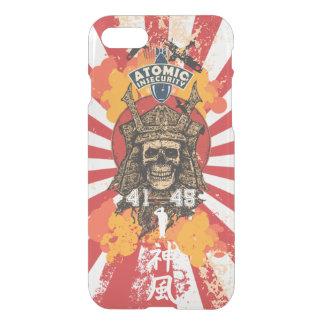 Capa iPhone 8/7 Shogun do Kamikaze de Japão transparente