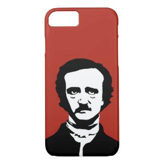 Capa iPhone 8/ 7 Silhueta de Edgar Allan Poe