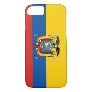Capa iPhone 8/ 7 Símbolo da bandeira de país de Equador por muito