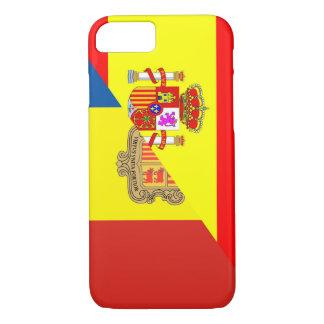 Capa iPhone 8/ 7 símbolo do país da bandeira de andorra da espanha