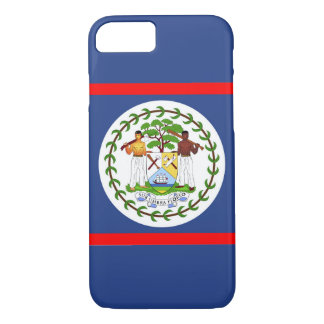 Capa iPhone 8/ 7 Símbolo do país da bandeira de Belize