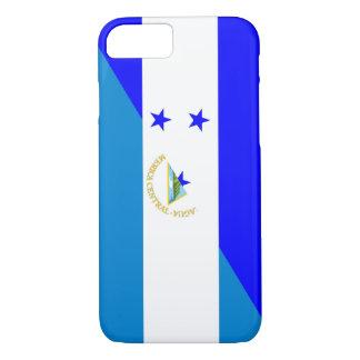 Capa iPhone 8/ 7 símbolo do país da bandeira de honduras Nicarágua