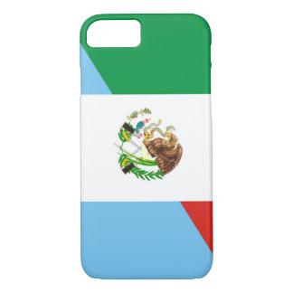 Capa iPhone 8/ 7 símbolo do país da bandeira de México guatemala