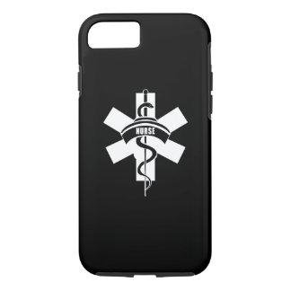 Capa iPhone 8/ 7 Símbolo médico das enfermeiras