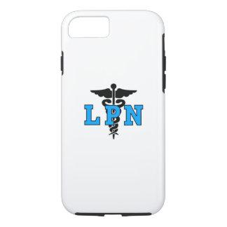 Capa iPhone 8/ 7 Símbolo médico das enfermeiras LPN