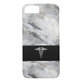 Capa iPhone 8/ 7 Símbolo profissional médico do Caduceus