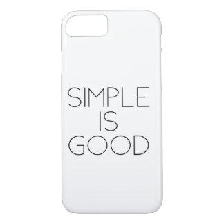 Capa iPhone 8/ 7 Simples é bom