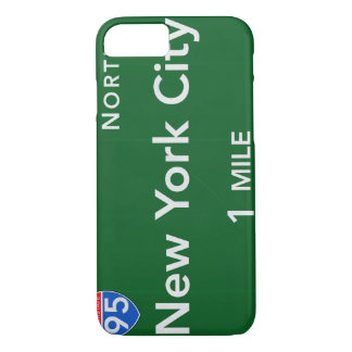 Capa iPhone 8/ 7 Sinal da estrada da Nova Iorque