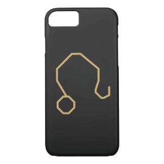 Capa iPhone 8/ 7 Sinal do zodíaco de Leo básico