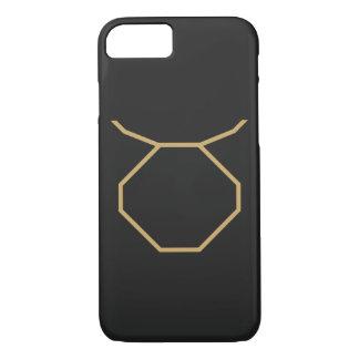 Capa iPhone 8/ 7 Sinal do zodíaco do Taurus básico